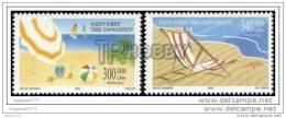 TRNC (Mi-514/15) 2000 NORTHERN CYPRUS HOLIDAY TOURISM MNH** - Zypern (Türkei)