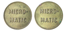 00555 GETTONE TOKEN JETON FICHA VENDING AUTOMATIC MACHINE COFFEE MICRO MATIC - Netherland