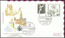 Germany Munich 1980 / Pope John Paul II / Visit / Church / Coat Of Arms - Popes
