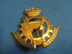 Insigne à épingle/ Belgique/Armée Belge Logistique /Pugnentes Adjuvo / Mi-XXéme Siécle      MED179 - Sonstige Länder