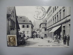 A440. CPA. ALLEMAGNE. NEUSTADT. Kellereistrasse.  Beau Plan Animé .ecrite & Voyagée 1912 - Neustadt Am Rübenberge