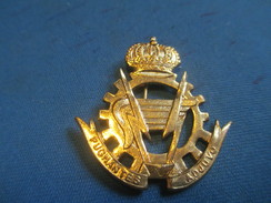 Insigne à épingle/ Belgique/Armée Belge Logistique /Pugnentes Adjuvo / Mi-XXéme Siécle      MED180 - Sonstige Länder