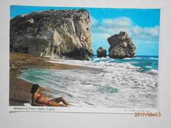 Postcard Birthplace Of Venus Paphos Cyprus By John Hinde  My Ref B21899 - Cyprus