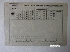 Grille De Lecture Des Marques D'indexation Translucide - 1974-1980 - Automatisering - LSA