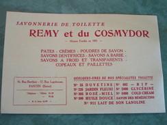 Savonnerie De Toilette - REMY Et Du COSMYDOR - PARIS (Buvard) - Perfume & Beauty