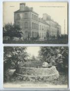 2 CPA  - Pontivy  - Tumulus De Nilliziem En Silfiac Et Le Grand Parc Annexe De L'Hôpital Temporaire N°18 - Pontivy