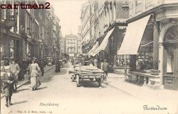 ROTTERDAM HOOFDSTEEG PAYS-BAS NEDERLAND HOLLANDE 1900 - Rotterdam