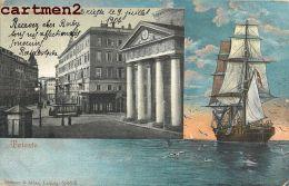 TRIESTE PIAZZA DELLA BORSA TRIEST ITALIA 1900 - Trieste