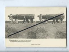 CPA Stéréoscopique - Locmariaquer - La Table Des Marchands - Les Monuments Mégalithiques De Bretagne - Locmariaquer