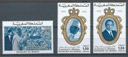 Maroc YT N°738/740 Indépendance Neuf ** - Marocco (1956-...)