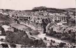CPSM/pf  CONSTANTINE (Algérie) ..Panorama Vu De La Route De Sétif Et Le Pont Sidi Rached. ..C265 - Constantine