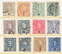 PORTUGAL   110 +   (o) - 1892-1898 : D.Carlos I