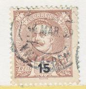 PORTUGAL   113   (o) - 1892-1898 : D.Carlos I