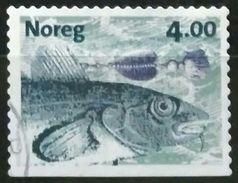 NORUEGA 1999 Fishing - Self-Adhesive. USADO - USED. - Norwegen