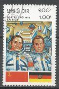 Laos 1983. Scott #451 (U) INTERCOSMOS Space Cooperation Program - Laos