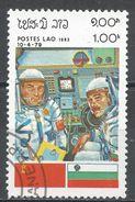 Laos 1983. Scott #452 (U) INTERCOSMOS Space Cooperation Program - Laos