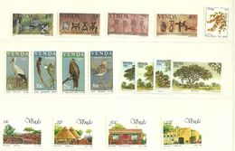 Venda - 1984 Full Year Issue MNH - Venda