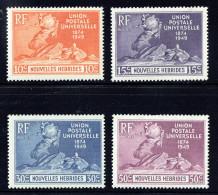 1949  75è Ann. De L'UPU  Légende Française Yv 136-9  ** MNH - Leyenda Francesa