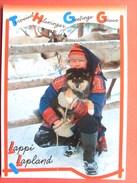 Finlande  ,lappi Lapland....suomi Et Son Chien - Finland