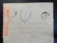 Indochine - Lettre De Censure 1941 - Indochine (1889-1945)