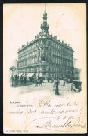 MADRID - La Equatativa- Original CPA Voyagée 1902-Recto Verso -Paypal Free - Madrid