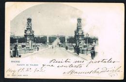 MADRID - Puente De Toledo - Original CPA Voyagée 1902-Recto Verso -Paypal Free - Madrid