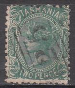 TASMANIA     SCOTT NO. 54    USED    YEAR  1871      WMK 76 - Usados