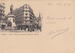 D75 - Paris - PLace Maubert  - Carte Précurseur  : Achat Immédiat - Plazas