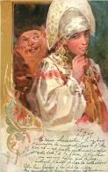 RUSSIE ILLUSTRATEUR SIGNE 1905 - Russia