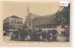CPA  -34102 - 67 - Strasbourg - Eglise Ste Madeleine Et Orphelinat En 1904 (  Strasbourg  Disparu N° 130) - Strasbourg