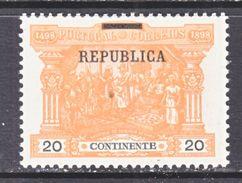 PORTUGAL  195   * - 1910-... Republic