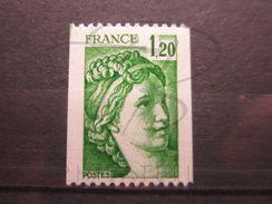 VEND BEAU TIMBRE DE FRANCE N° 2103a , XX !!! - 1977-81 Sabine Of Gandon