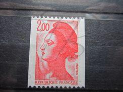 VEND BEAU TIMBRE DE FRANCE N° 2277a , XX !!! - 1982-90 Liberty Of Gandon