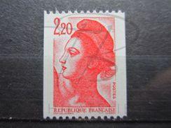 VEND BEAU TIMBRE DE FRANCE N° 2379a , XX !!! - 1982-90 Liberty Of Gandon