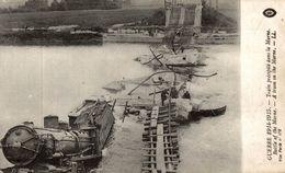 TRAIN PRECIPITE DANS LA MARNE - Guerre 1914-18