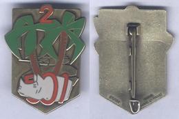 Insigne Du 2e Escadron Du 501e Régiment De Chars De Combat - Army