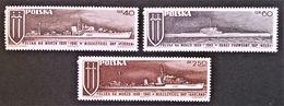 NAVIRES DE GUERRE 1970 - NEUFS ** - YT 1878/80 - MI 2029/31 - 1944-.... Republik