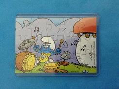 1996 FERRERO PUZZLE PUFFI SUONATORI K97 N 112 - Puzzles