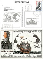 TAAF 1993 - Rare. Tirage Limité. 30e Mission Crozet. Bateau Le Mascarin. Marion-Dufresne Yv. 168   ..Réf.TAF20860 - Lettres & Documents
