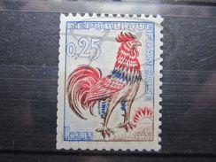 VEND BEAU TIMBRE DE FRANCE N° 1331b , XX !!! - 1962-65 Cock Of Decaris