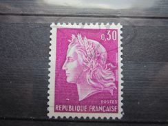 VEND BEAU TIMBRE DE FRANCE N° 1536b , XX !!! (a) - 1967-70 Maríanne De Cheffer
