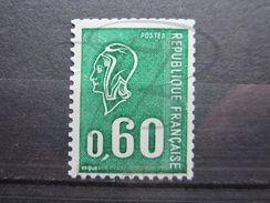 VEND BEAU TIMBRE DE FRANCE N° 1815a , X !!! - 1971-76 Maríanne De Béquet