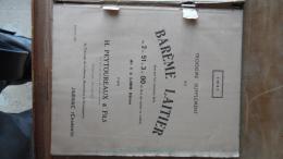 99 213 DIVERS LIVRE 60 PAGES Environ BAREME LAITIER Ets H. PEYTOUREAUX De JARNAC CHARENTE Laiterie Beurrerie Fromagerie - Livres, BD, Revues