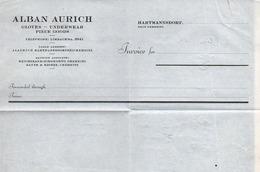 A6786 - Alte Rechnung - Limbach - Alban Aurich 1967 - Germany