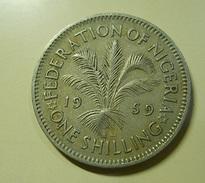 Nigeria 1 Shilling 1959 - Nigeria
