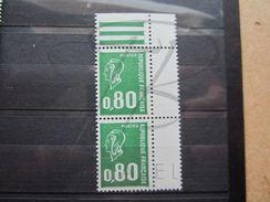 VEND BEAUX TIMBRES DE FRANCE N° 1891b EN PAIRE + BDF , XX !!! - 1971-76 Marianne (Béquet)