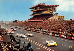 72-LE MANS - 24 HEURES DU MANS- LE DEPART DES VOITURES - Le Mans