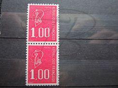 VEND BEAUX TIMBRES DE FRANCE N° 1892b EN PAIRE , XX !!! - 1971-76 Maríanne De Béquet
