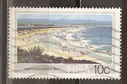 Afrique Du Sud South Africa 200- Plage Plettenbergbaai Beach Obl - Afrique Du Sud (1961-...)