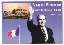 François Mitterrand - Maire De Château-Chinon - Chateau Chinon